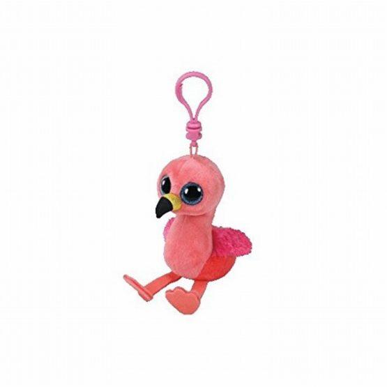 Plus Breloc Ty 8.5cm Boos Gilda Flamingo