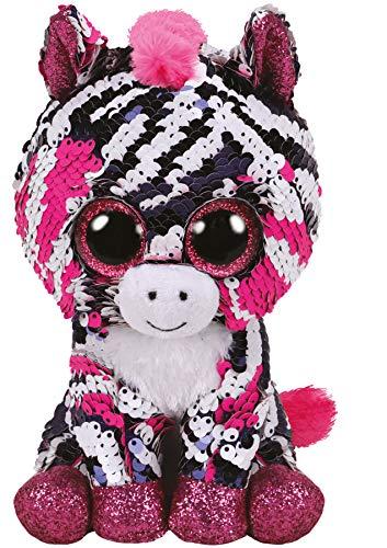 Plus Ty 15cm Boos Zebra Zoey Cu Paiete