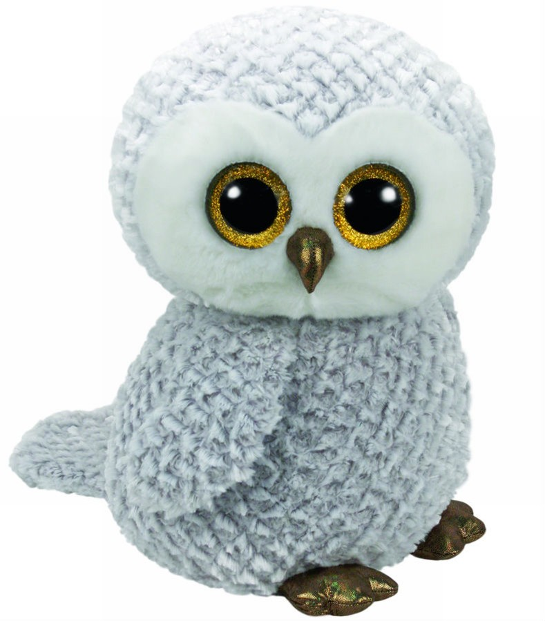 Plus Ty 42cm Boos Owlette Bufnita Alba