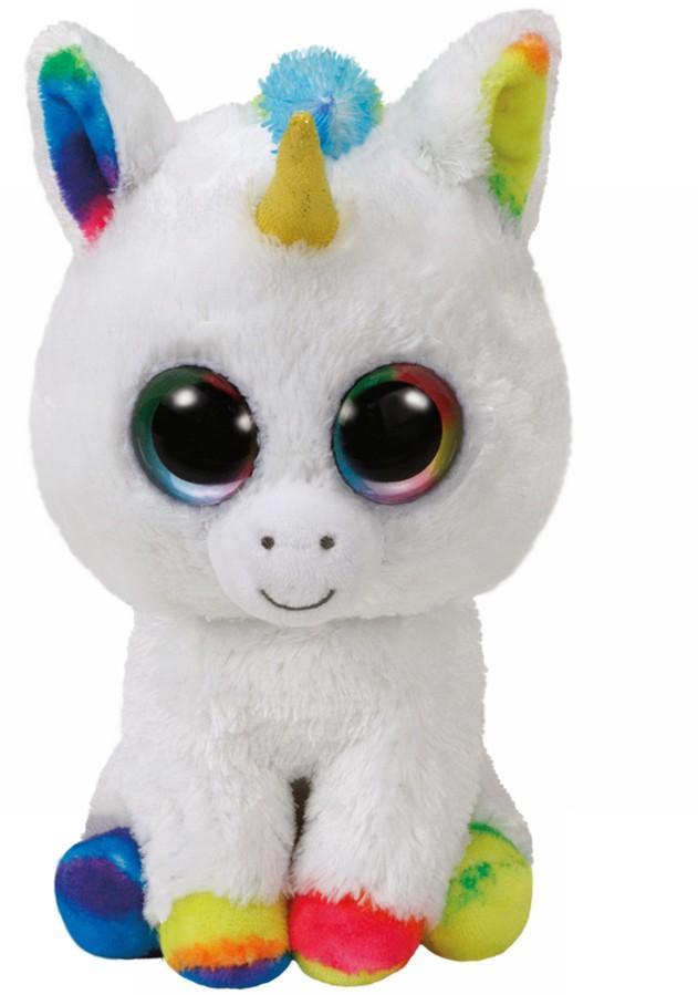 Plus Ty 15cm Boos Pixy Unicorn Alb