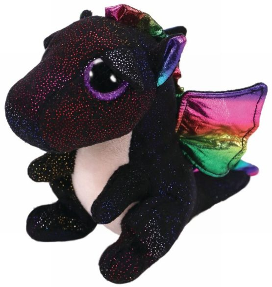 Plus Ty 15cm Boos Anora Dragon Negru