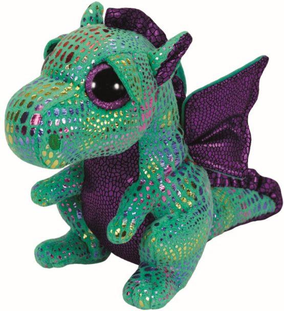 Plus Ty 24cm Boos Cinder Dragon Verde