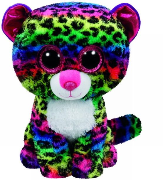 Plus Ty 24cm Boos Dotty Leopard Multicolor