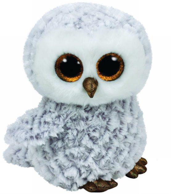 Plus Ty 24cm Boos Owlette Bufnita Alba