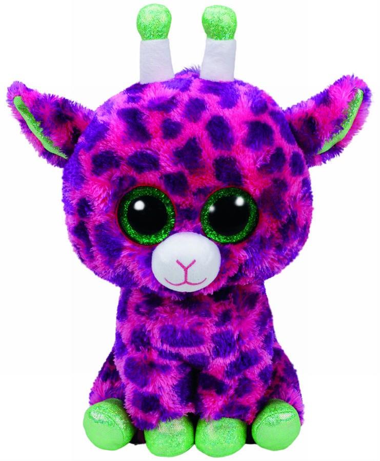 Plus Ty 24cm Boos Gilbert Girafa Roz