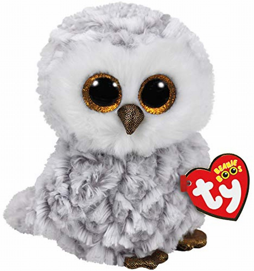 Plus Ty 15cm Boos Owlette Bufnita Alba