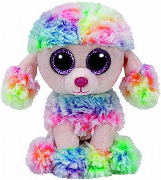 Plus Ty 15cm Boos Poofie Pudel Multicolor