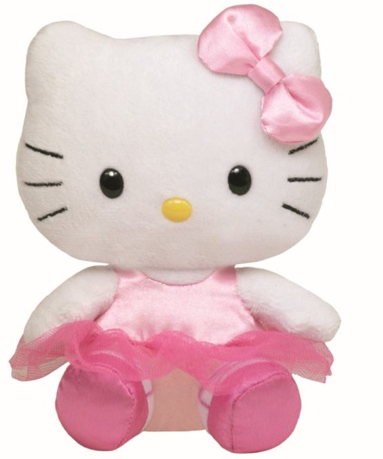Plus Ty 15cm Beanie Babies Hello Kitty Balerina