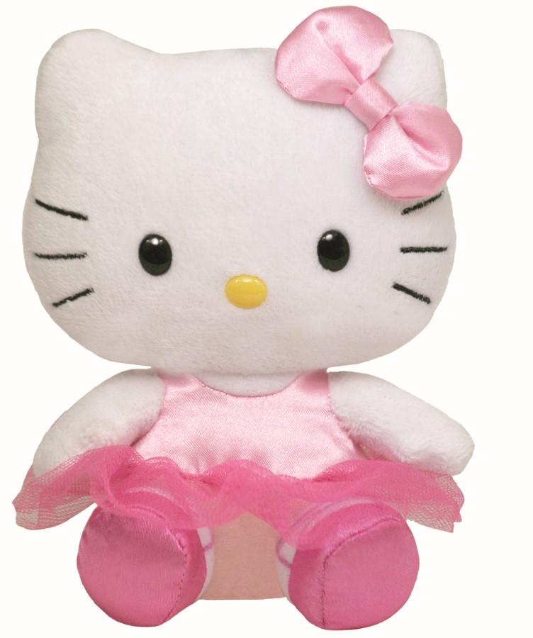 Plus Ty 15cm Beanie Babies Hello Kitty Balerina