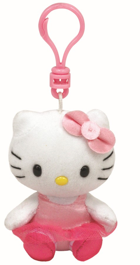 Plus Breloc Ty 8.5cm Hello Kitty