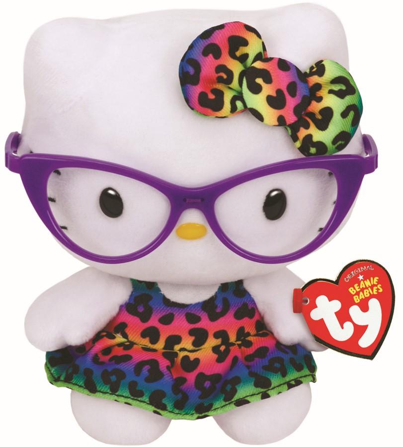 Plus Ty 15cm Beanie Babies Hello Kitty Fashionista
