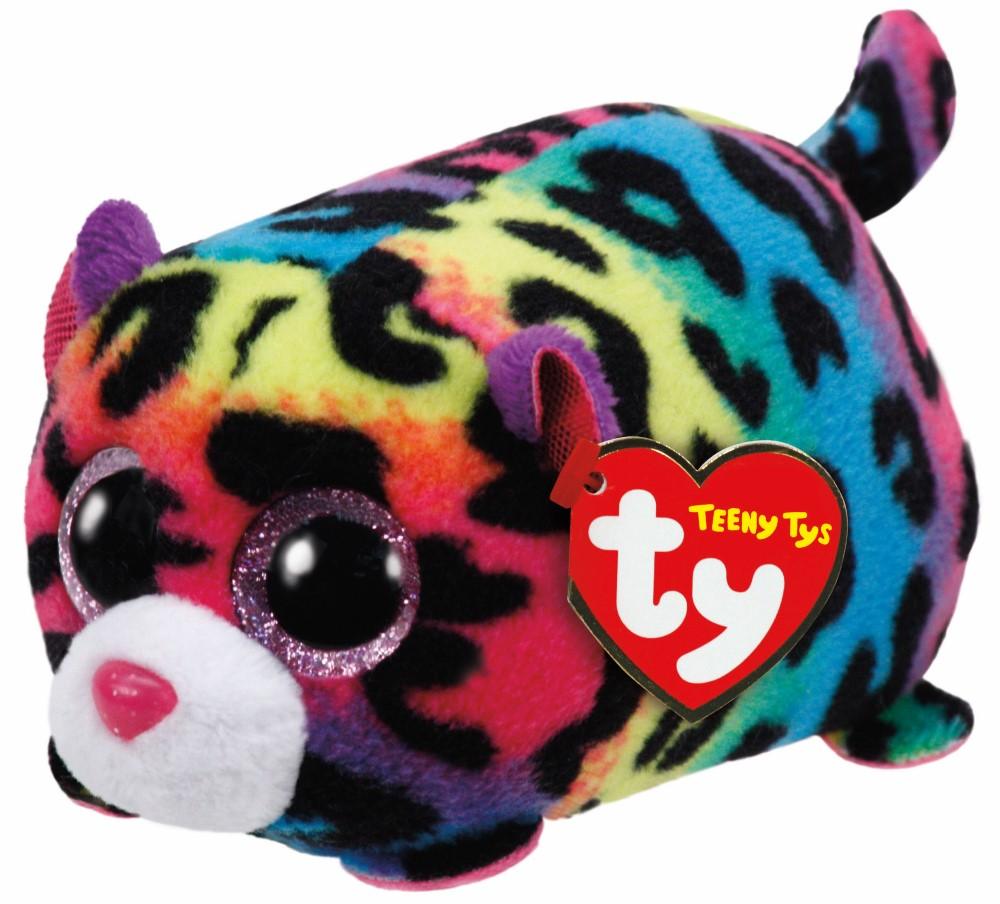Plus Ty 10cm Teeny Tys Leopardul Jelly