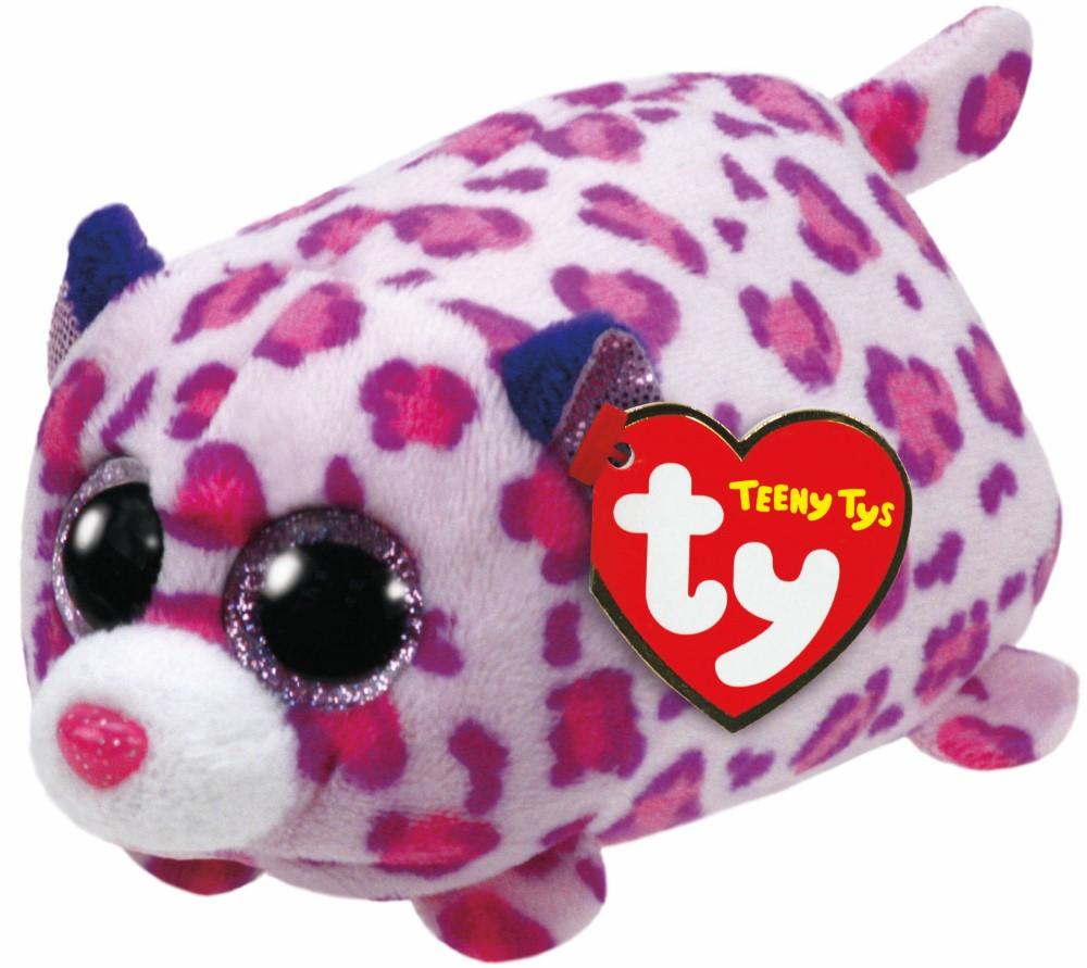 Plus Ty 10cm Teeny Tys Leopardul Olivia