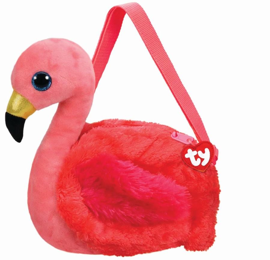 Gentuta De Umar Din Plus Ty 15cm Flamingo Gilda