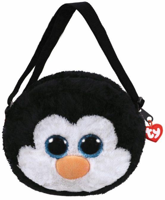 Gentuta De Umar Din Plus Ty 15cm Pinguinul Waddles