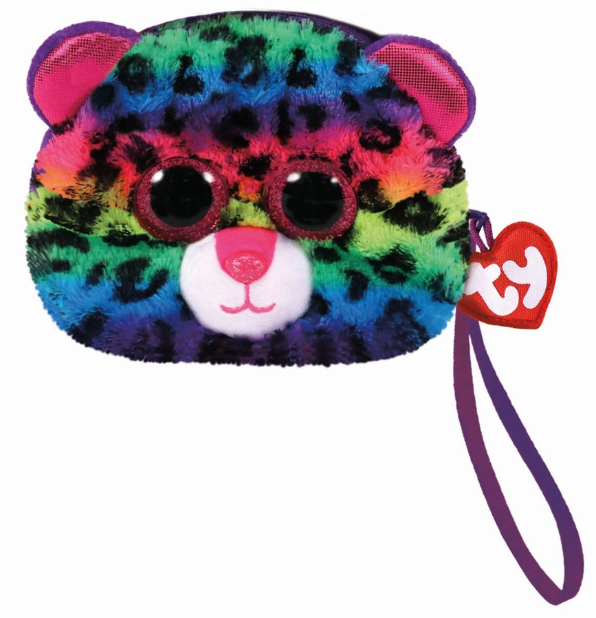 Gentuta De Mana Din Plus Ty 10cm Leopardul Dotty