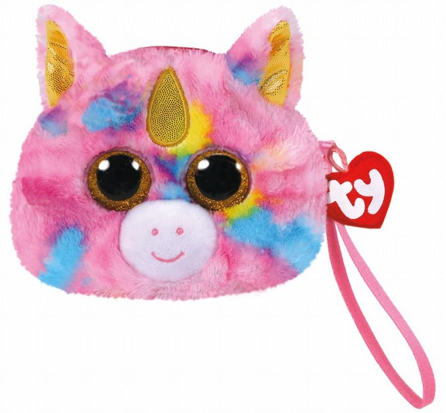 Gentuta De Mana Din Plus Ty 10cm Unicornul Fantasia