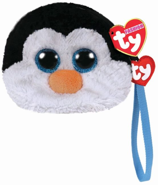 Gentuta De Mana Din Plus Ty 10cm Pinguinul Waddles