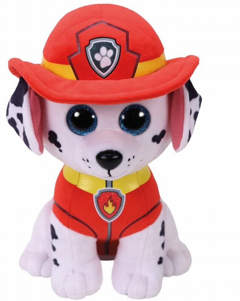 Plus Ty 24cm Marshall Pompierul Patrulei Catelusilor