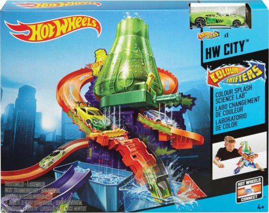 Hot Wheels Playset Culori Schimbatoare Laboratorul Stiintific