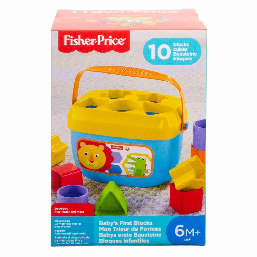 Jucarie Bebelusi Primele Cuburi Fisher Price