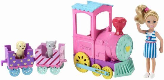 Barbie Papusica Chelsea Cu Trenulet