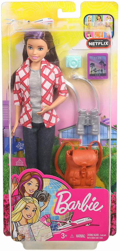 Papusa Barbie Travel Skipper