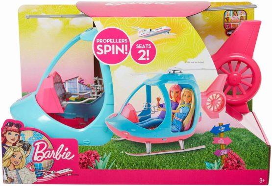 Barbie Elicopter Cu Doua Locuri