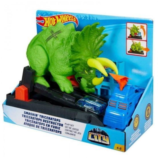 Hot Wheels Set Dinozaurul Furios