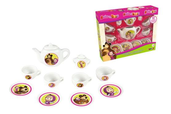 Smoby Masha Set Ceai De Portelan