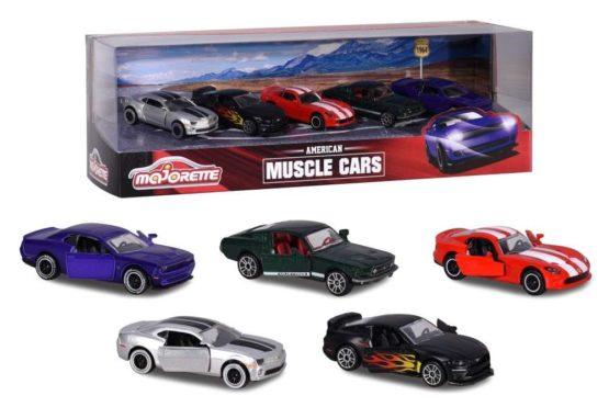 Set 5 Masinute Muscle Car