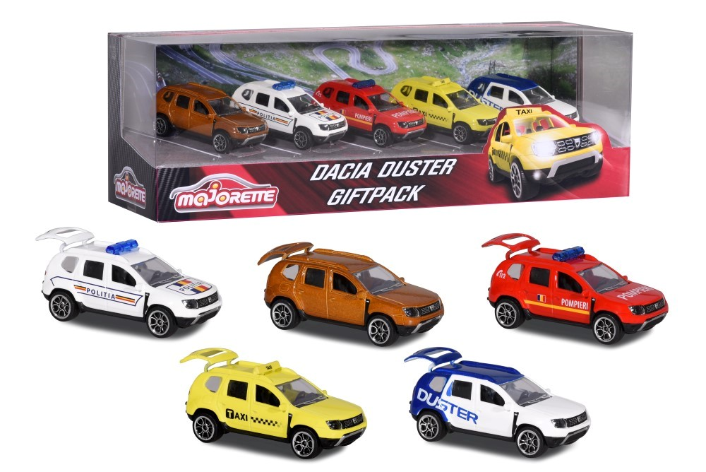 Set 5 Machete Metalice Dacia Duster