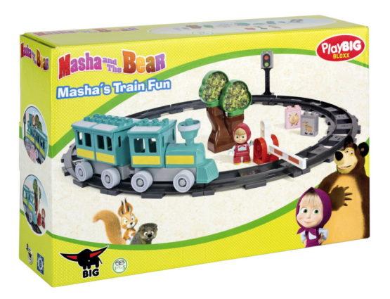 Playbig Bloxx Masha Tren 32 Piese