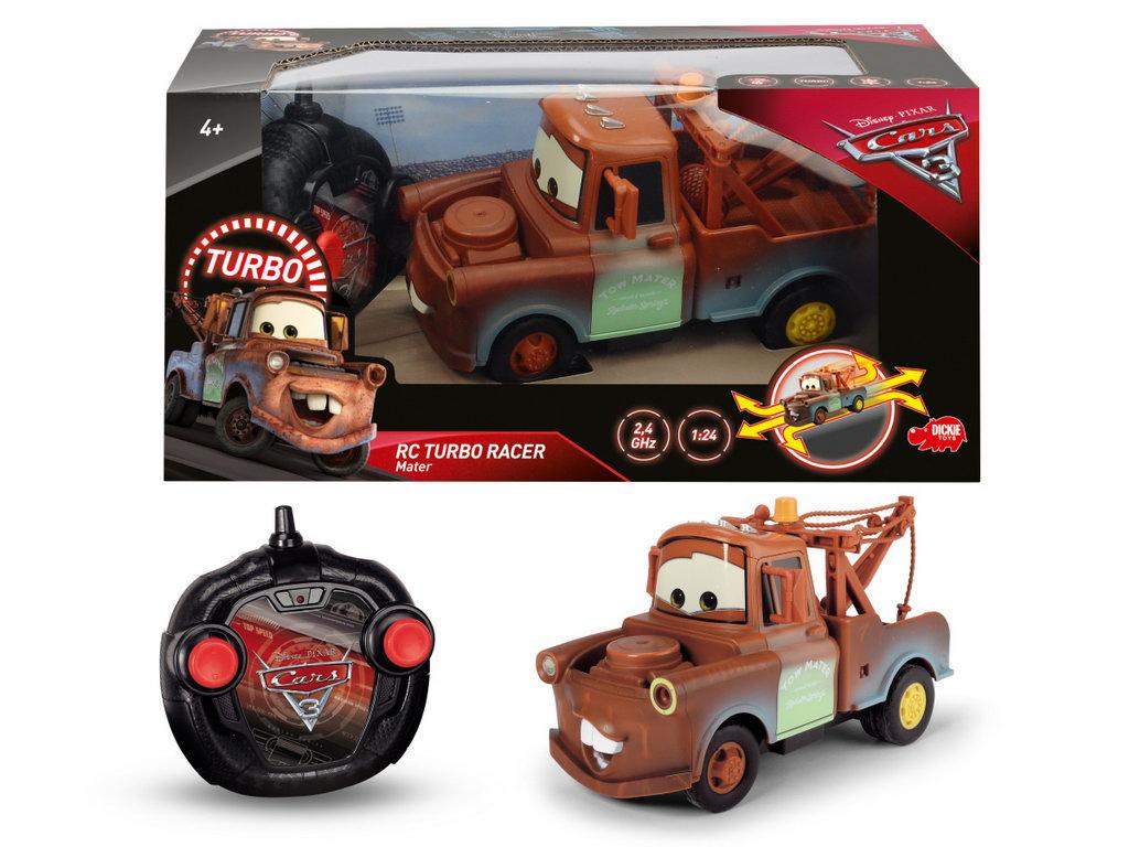 Masinuta Radiocomandata Cars3 Bucsa Turbo Racer Mater