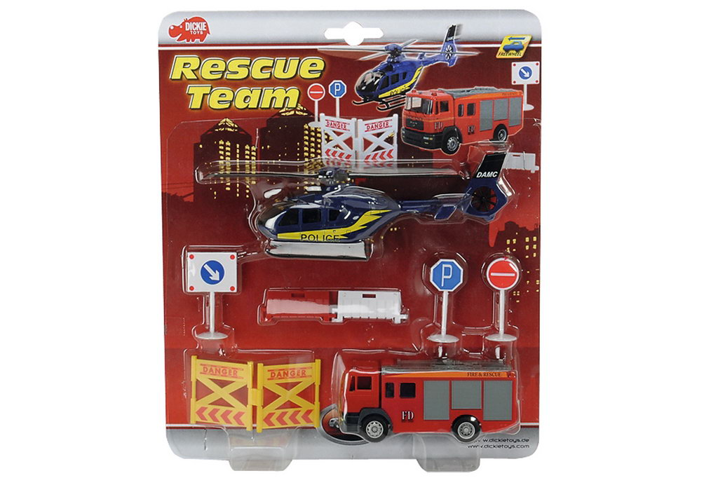 Dickie Set Rescue Team Elicopter