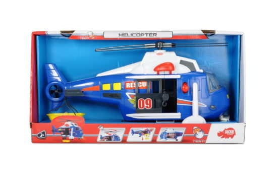 Dickie Elicopter 41 Cm Cu Sunet Si Lumini