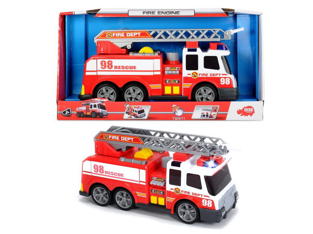 Dickie Masina Pompieri 37 Cm Cu Sunet Si Lumini