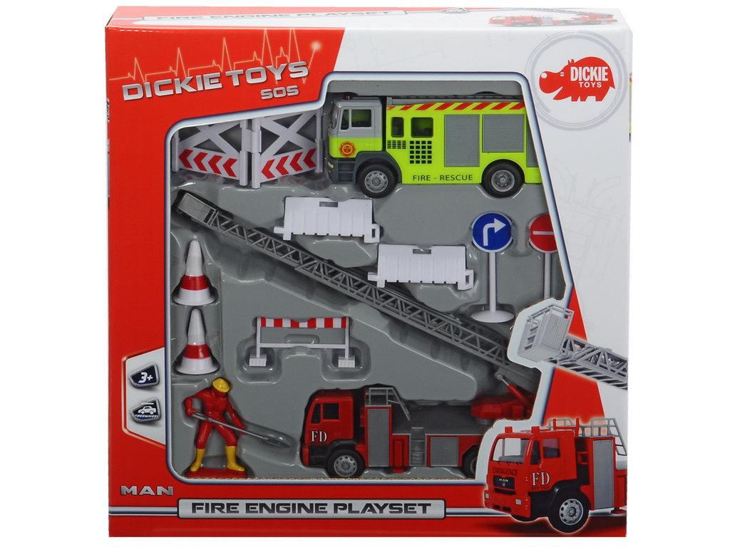Dickie Set Pompieri Accesorii
