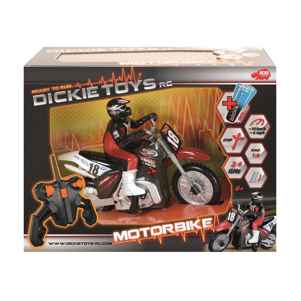 Dickie Rc Motocicleta Cu Radiocomanda