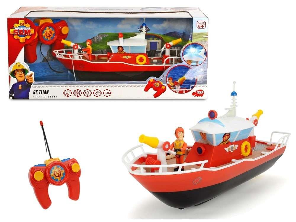Vaporul De Salvare Rc Titan Al Pompierului Sam