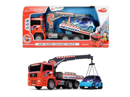 Air Pump Camion De Tractare Cu Macara 31 Cm