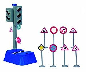 Semafor Cu Baterii Si Semne De Circulatie