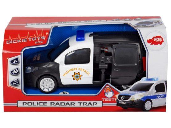 Masina De Politie Cu Radar
