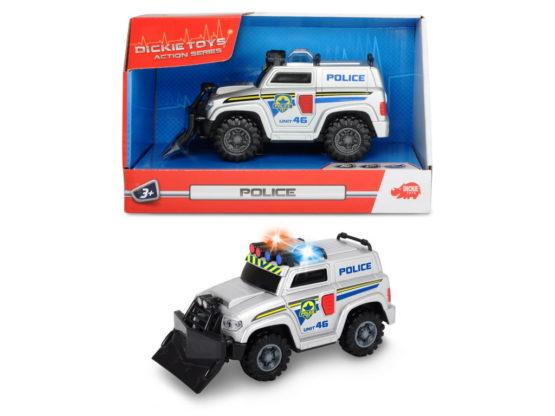 Dickie Masina Politie 15 Cm Sunete Si Lumini