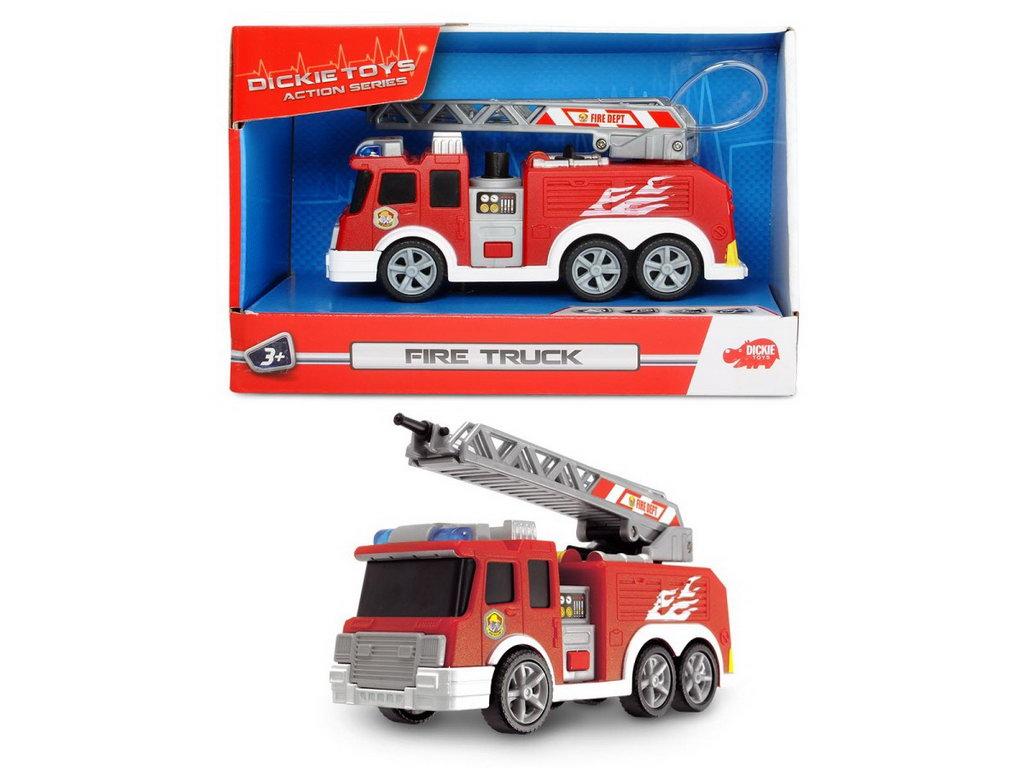 Dickie Masina Pompieri 15 Cm Sunete Si Lumini
