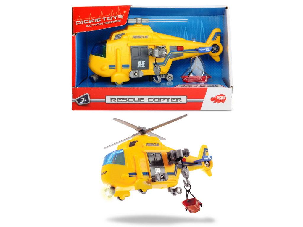 Dickie Elicopter De Salvare 18 Cm Sunete Si Lumini
