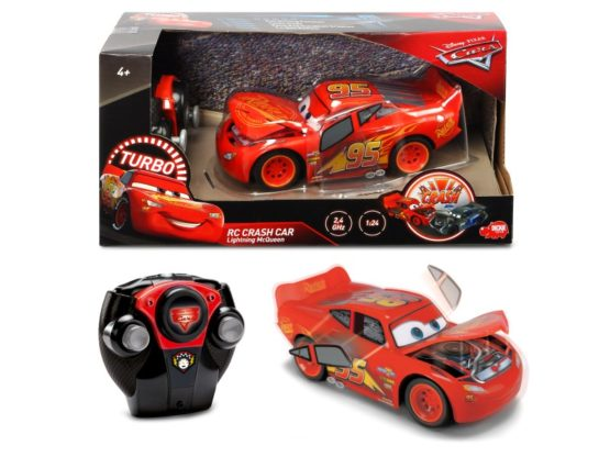 Rc Cars3 Lightning Mc Queen Crazy Crash