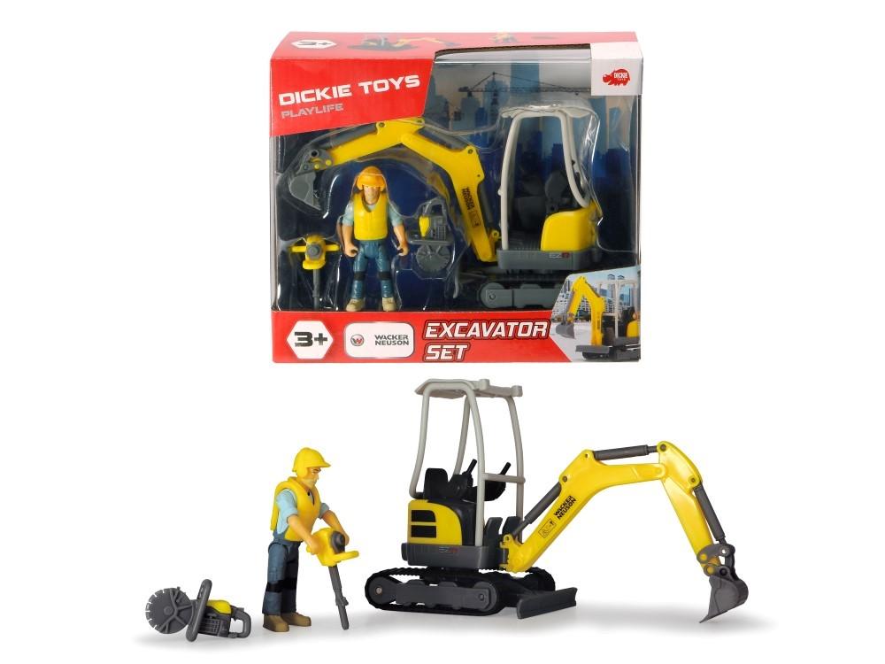Set Excavator Wacker Neuson Scara 1 La 24