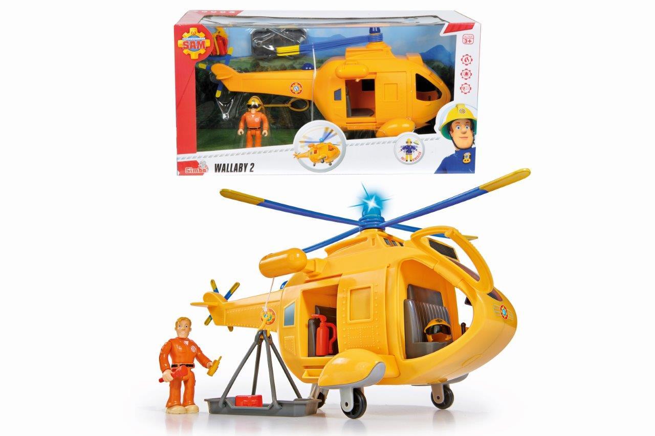Elicopterul Wallaby Ii Cu Figurina