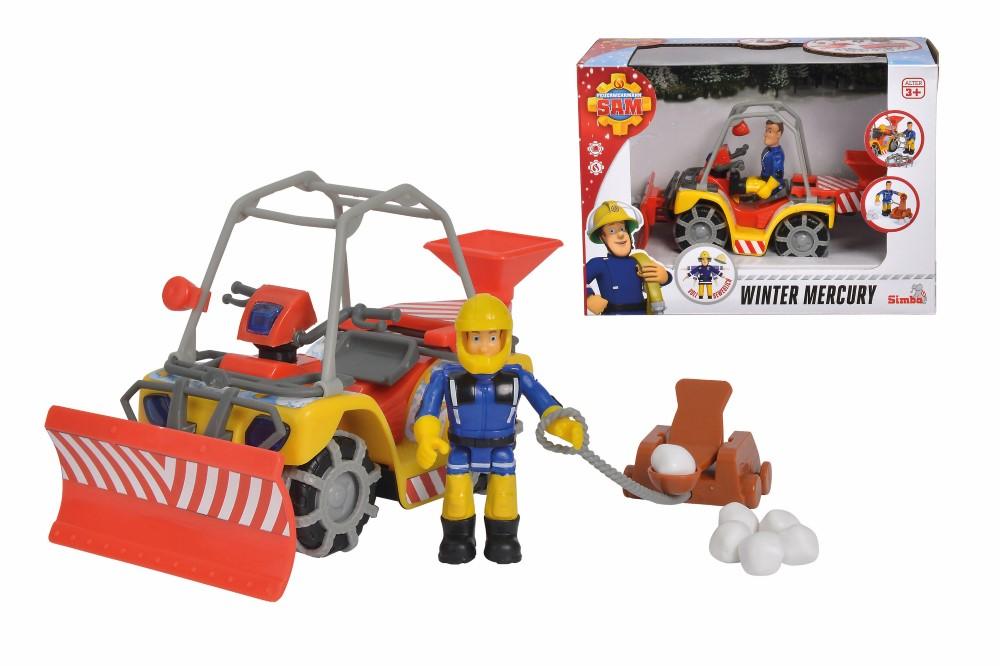 Pompierul Sam Atv Pentru Dezapezit